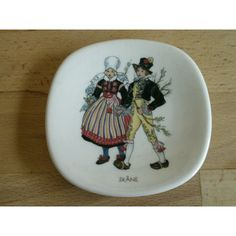 Rorstrand Swedish National Costumes Wall Plaque Listing in the Continental,China…