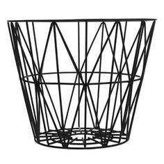 Ferm Living's Wire Basket is a container with style.