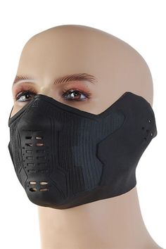 Winter Solder Facemask - would be a great motorcycle mask!