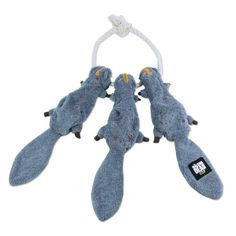 The Walking Dead Daryl's Squirrel's-On-A-Rope Plush Pet Toy