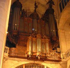Orgue -Saint Etienne du Mont (Maurice Duruflé)- Paris