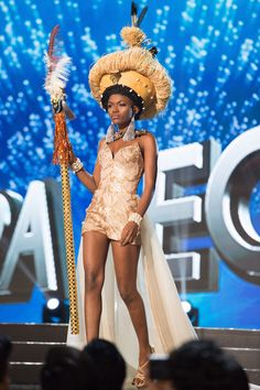 SIERRA LEONE: Hawa Kamara, 26 Meet the 86 gorgeous contestants competing in Miss Universe Miss Universe National Costume, Barbie Miss, Christmas Ad, Beauty Pageant, Sierra Leone, Girl Costumes, African Fashion, Evening Gowns, Culture