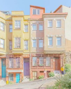City Aesthetic, Aesthetic Photo, Aesthetic Colors, Aesthetic Pictures, Anime Scenery Wallpaper, Aesthetic Pastel Wallpaper, Aesthetic Wallpapers, Photo Wall Collage, Picture Wall