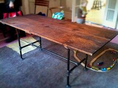 table made from door - Google Search