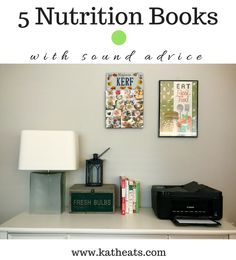New post on KERF --> Five Of My Favorite Nutrition Books. I'm sharing some thoughts on What The Health and 5 books I think are great nutrition reads. // https://www.katheats.com/five-favorite-nutrition-books