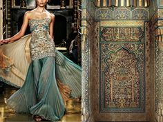 Liliya Hudyakova dresses based of nature/photos