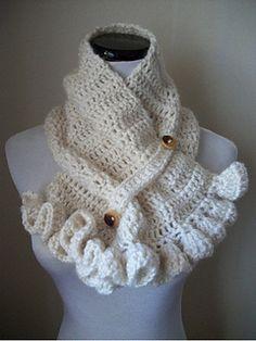 crochet neckwarmer - free pattern
