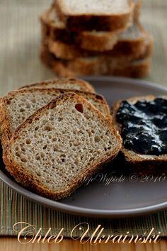 chleb ukraiński  - pszenno - razowy na zakwasie