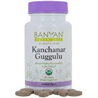 Banyan Botanicals Kanchanar Guggulu Usda Organic 90 Tablets Energizing Ayurvedic Herbs For Thyroid Lymphatic Wel In 2020 Ayurvedic Herbs Usda Organic Ayurvedic