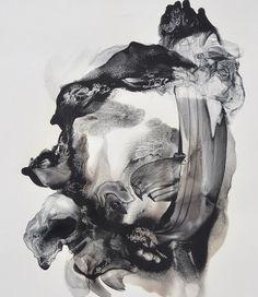Patti Jordan: Abductor, 2013 #art #abstractart #mixedmedia #blackandwhite www.kidsofdada.com/products/abductor