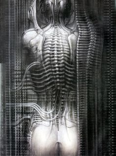 Giger. I had nearly all his hard-to-find hardback oversized books at one point, and lost them in a basement flood.
