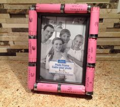 Pink+shotgun+shell+picture+frame+by+ItsADucksLife+on+Etsy,+$15.00