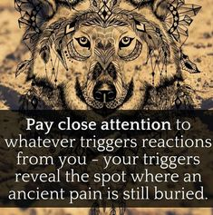 Observe your triggers and don't reach for your usual relief!