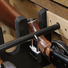 Conceals Five Long Guns Under Locking False Bottom