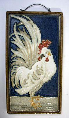 A cloisonne tile by De Porceleyne Fles, Delft, ca. 1930