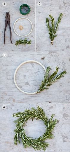 400 PX: DIY Rosemary Wreath