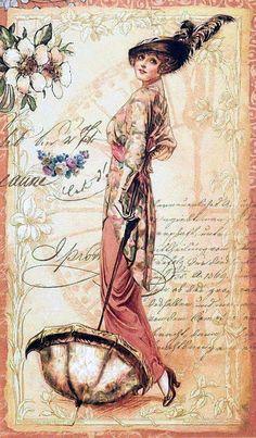 Vintage Paper Printable Free Decoupage New Ideas Vintage Diy, Images Vintage, Decoupage Vintage, Vintage Labels, Vintage Ephemera, Vintage Pictures, Vintage Cards, Vintage Paper, Vintage Postcards