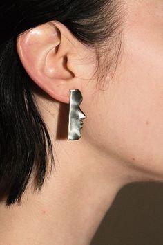 Open House Jewelry - Brass Fille Earrings | BONA DRAG
