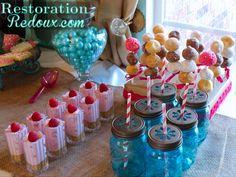 How To Host A Baby Shower Part 5 (The Dessert Table) - Restoration Redoux http://www.restorationredoux.com/?p=4980