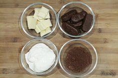Sernik Bounty z polewą z białej czekolady - Stonerchef Ice Cream, Pudding, Cooking, Amazing, Fit, No Churn Ice Cream, Kitchen, Shape, Icecream Craft