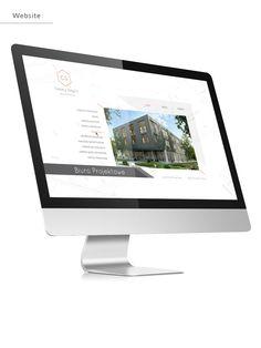 Branding Web Design For Architect On Behance