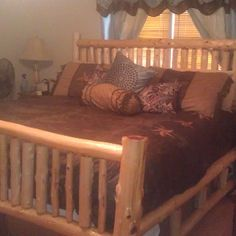 used the texas star theme for my new cedar bed