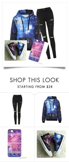 """""""Space School"""" by rainbowcupcakes101 on Polyvore featuring Topshop and HVBAO"""