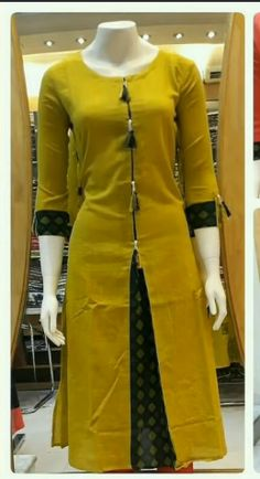 Kurti Latest Designs - The handmade craft Salwar Suit Neck Designs, Churidar Designs, Kurta Neck Design, Kurta Designs Women, Latest Kurti Designs, Salwar Neck Patterns, Neck Patterns For Kurtis, Kurti Sleeves Design, Sleeves Designs For Dresses
