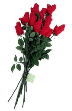 Low Rose Thong Rose Bouquet - Set of 12