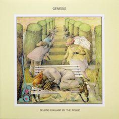 """Selling England By The Pound, Genesis: E' il disco della maturità per Peter Gabriel e compagni ed una delle vette più alte raggiunte dal progressive rock. Un grande mosaico di sonorità romantiche e barocche, mescolate a testi misteriosi e intriganti. Spiccano su tutte l'armoniosa """"Firth Of Fifth"""" e l'incalzante """"The Battle Of Epping Forest""""."""