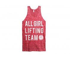 All Girl Lifting Team Chicks Vest