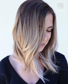 Balayage Hair Sombre Bronde