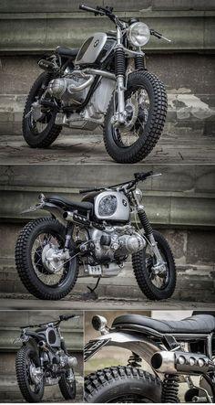 Down Out BMW Scrambler :: via The Bike #Motorbike| http://motorbikegallery.lemoncoin.org