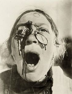 Cropped still from Eisenstein's film Battleship Potemkin (1925).