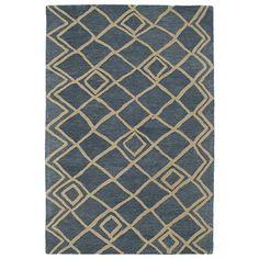 Kaleen Casablanca CAS04-17 Blue Wool Area Rug