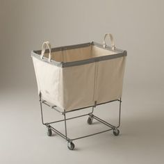 Canvas Laundry Cart | Storage | Accessories