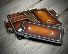 iPhone 7/7 Plus Leather Case. Carefully handmade in Italy.