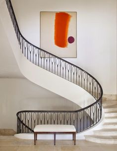 Graphic banister
