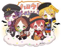Anime Halloween, Happy Halloween, Sad And Lonely, Nichijou, Diabolik Lovers, Cute Anime Guys, Vocaloid, My Idol, Chibi