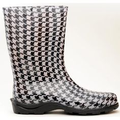 5005HT07 Size 7 Houndstooth Women's Waterproof Rain Boots (Discontinued by Manufacturer) *** More info could be found at the image url. (This is an affiliate link) #Outdoor