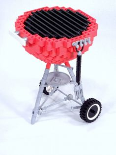 LEGO Weber Grill: A LEGO® creation by Dan Church : MOCpages.com