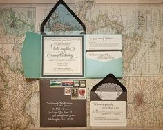 The Artisan Bride: Pocketfold Invitations Part 2