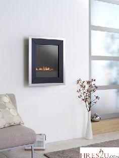 EKO FIRES 5020 WALL MOUNTED FLUELESS GAS FIRE - LPG FIRES