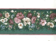 Floral - 00940 - Wallpaper Border