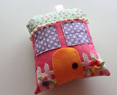 Sale  Ready To Ship  Tooth Fairy Pillow House  by NeverlandNook
