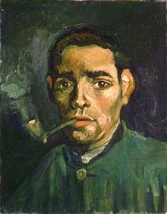 Reprodukcje obrazów Vincent van Gogh Head of a Man - Fedkolor Theo Van Doesburg, Van Gogh Paintings, Impressionist Artists, Time Painting, Art Van, Dutch Painters, Post Impressionism, Vincent Van Gogh, Rembrandt