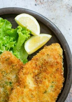 Loved by kids and grown-ups, Italian breaded chicken cutlets (cotolette di pollo) are crispy on the outside and tender and juicy on the inside, and ready in under 30 minutes! Baked Chicken Cutlets, Breaded Chicken, Cheap Meals, Cheap Recipes, Chicken Slices, Best Comfort Food, Stuffed Whole Chicken, The Ranch, Weeknight Meals