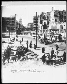 Berlin, Alexanderplatz, 1945-46