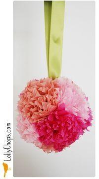 Thanksflower ball, flower girls awesome pin