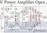 How to parallel transistor final on power amplifier, for enhancing and increase wattage of power amplicier circuit. Audio Amplifier, Audiophile, Electronic Schematics, Electronic Circuit, Sine Wave, Circuit Diagram, Shop Layout, Tecnologia
